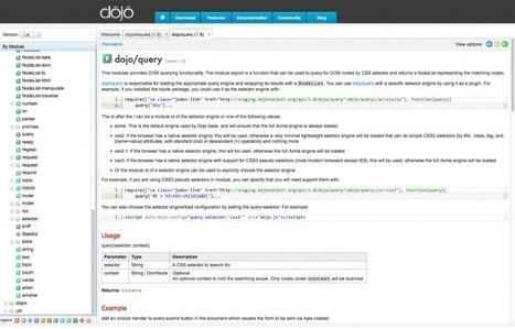 Usando Twitter Bootstrap con Dojo | Social Media | Scoop.it