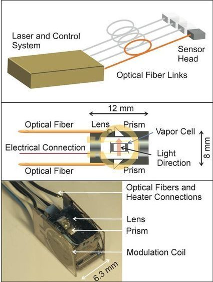 Low-cost mini-sensor measures magnetic activity in human brain | KurzweilAI | Brain-1 | Scoop.it