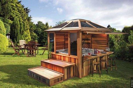 Les gazebos en bois abris de jardin naturels business analyst - Construire un gazebo ...