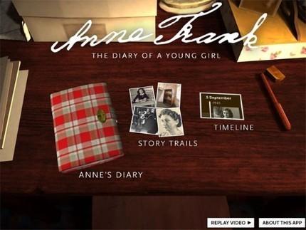 Anne Frank vertelt haar verhaal op de iPad - De Standaard | literatuuractua van seppe | Scoop.it