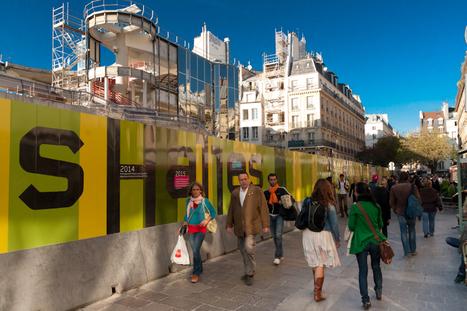 Faire ses courses au Forum des Halles pendant les travaux | Projet les Halles | Scoop.it