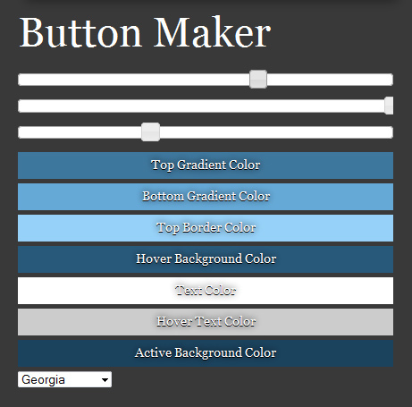 CSS Button Maker | Learning HTML, CSS, Design Favs | Scoop.it
