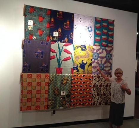Inspiration Runs Both Ways At UCLA's Ghanian Fabric Exhibit - Neon Tommy | art contemporain africain | Scoop.it
