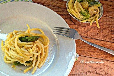 Ricettosando - ricette di cucina e chiacchiere: Timballino di bucatini con patate zola e asparagi | Ricettosando | Scoop.it