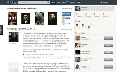 How Social Reading Fragments Books and Puts Them Back Together on Findings.com | social reading | Scoop.it