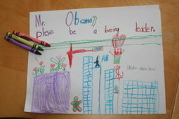Children's Advice For President Obama | Let's Grow Leaders | Scoop.it