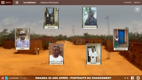 Rwanda 20 ans après : portraits du changement | Interactive & Immersive Journalism | Scoop.it