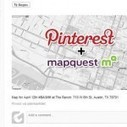 MapQuest makes maps pinnable on Pinterest | Everything Pinterest | Scoop.it