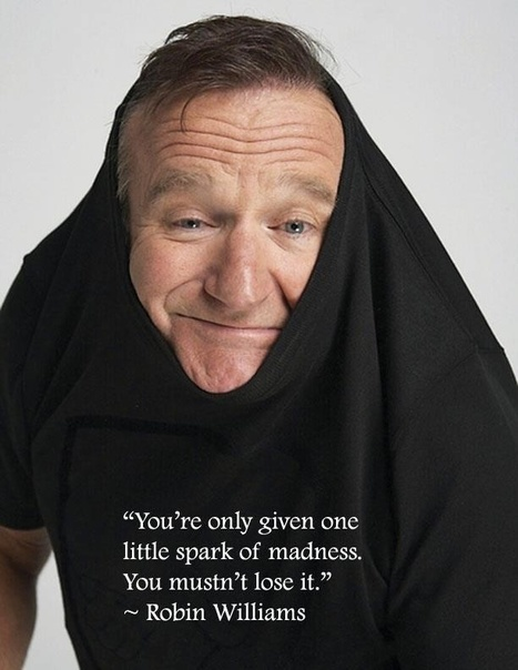 You're only given one little spark of madness... | Inspirations for Life | Scoop.it