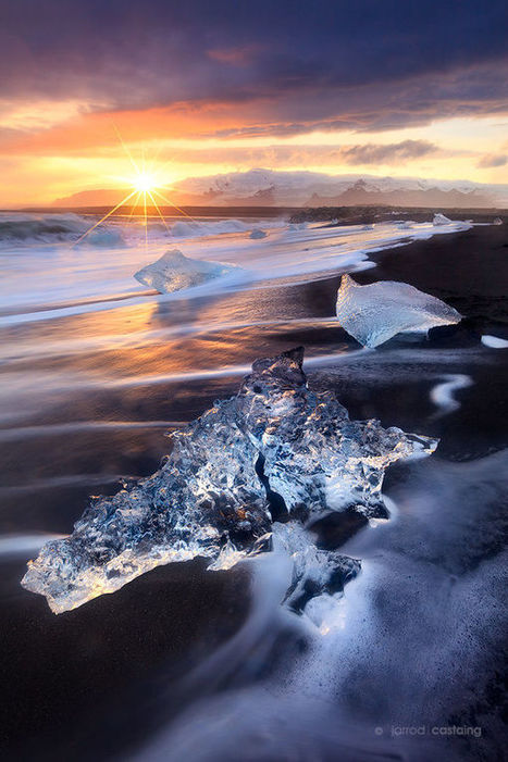 Frozen Shore by Jarrod Castaing | My Photo | Scoop.it