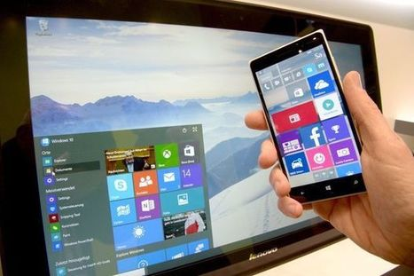 Windows 10 Update efface spontanément certaines applis | Geeks | Scoop.it