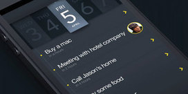 Guifff l'inspiration pour créer des interfaces ergonomiques et interactives - ressources | Graphisme | Scoop.it