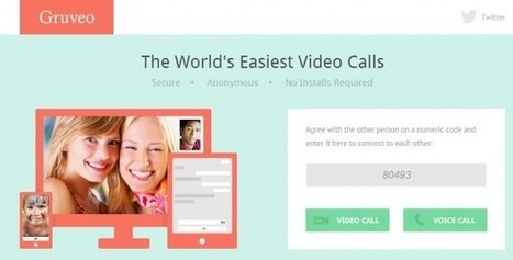 Nuevo Gruveo, web para hacer llamadas de voz y vídeo sin instalar nada ni registrarse, ahora en android | Tecnologias m-learning | Scoop.it
