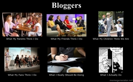 Bloggers | What I really do | Scoop.it