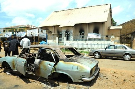 Jos bomb blasts: Angry protesters burn churches — Police - Premium Times | Terrorism | Scoop.it