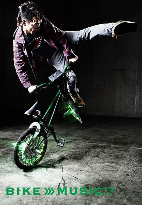 Gadget musical – Avec Turntable Rider mixez grâce à votre vélo ! | Musique numérique & tactile | Scoop.it