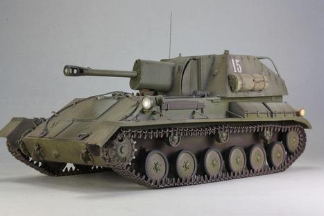 SU-76M <br/>MiniArt 1:35&nbsp; | Military Miniatures H.Q. | Scoop.it