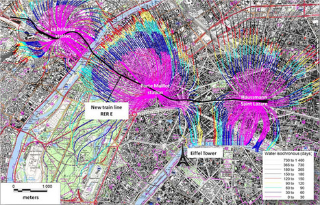 Inogen Associate, Antea Group (France) Provide Their Expertise on Hydrodynamic Modeling of the Drawdown of Groundwater under the Extension Project of the Regional Express Network RER E in Paris - I... | France News | Scoop.it