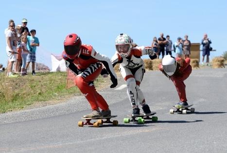 Ils dévalent les pentes de Peyragudes en skate, à près de 100 km-h | Louron Peyragudes Pyrénées | Scoop.it