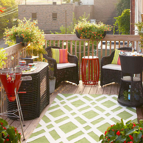 Small-Space Outdoor Entertaining Tips | Outdoor Living | Scoop.it