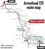 Ultra rugged, ultra cold: Arrowhead 135 Ultra Marathon tests racers strength ... - Duluth News Tribune | Biking and Trail Running | Scoop.it