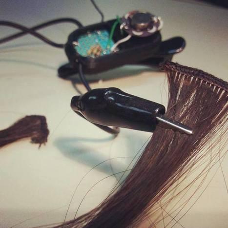 Hairware - Interactive Hair Extensions Augment Natural Gestures | DigitAG& journal | Scoop.it