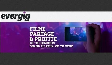 Start-up Evergig plateforme de partage vidéo de concert | 1001 StartUps | music video | Scoop.it