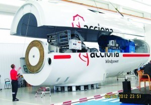 Acciona Windpower completes first 3-megawatt wind turbine | Fabulous Renewables | Scoop.it