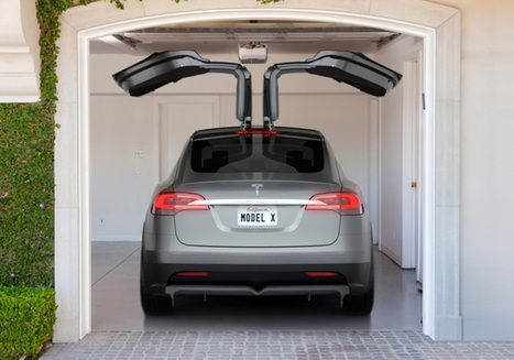 The Tesla Model X SUV Is Coming In Early 2015 With Gull-Wing Doors | CARAVAN & WEEKLY MAR NEWS | Scoop.it