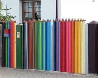 Pencil Fence | curieus | Scoop.it