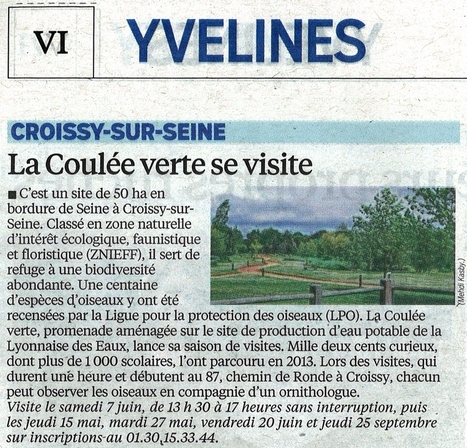 Visite de la coulée verte en bordure de Seine | Croissy sur Seine | Scoop.it