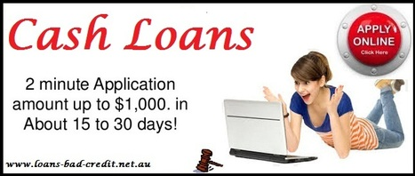 Get Monetary Aid For Unwanted Cash Need Via Online Medium | Loans Bad Credit | Scoop.it