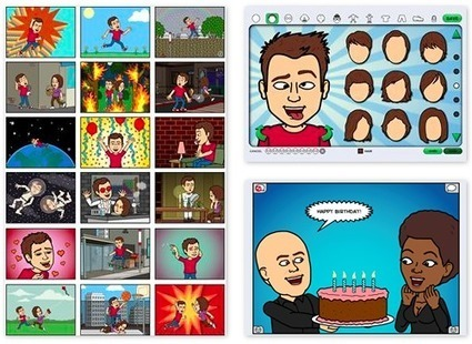 Diary of a Social Media Manager: Animate your Social Media with Facebook App Bitstrips | www.africatube.net | Scoop.it