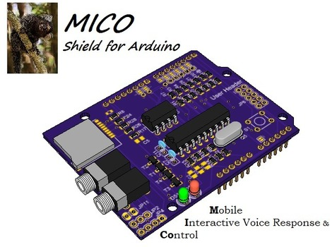 Minnesota Hobbyist Launches Kickstarter Campaign to Produce Interactive Voice Response for Arduino | PRLog | Open Source Hardware News | Scoop.it