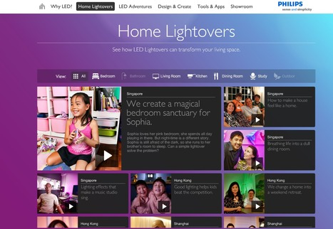 Philips Lighting presents The LED Lightshow. | Rumour Has It : The Awesomeness Aggregator | Scoop.it
