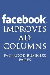 Facebook Improves Ad Columns - Facebook Business Pages | Green Girl Around Town | Scoop.it