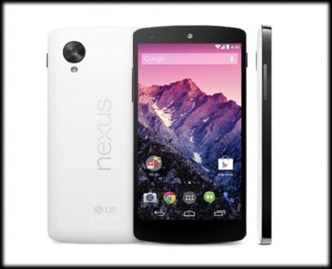 Google announces the Nexus 5 with Android 4.4.. (hands-on video) | Mobile IT | Scoop.it