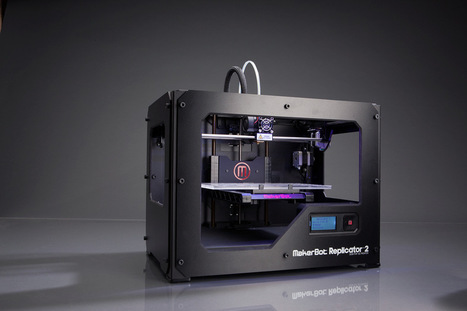 Replicator 2: a new direction for MakerBot? | Big and Open Data, FabLab, Internet of things | Scoop.it