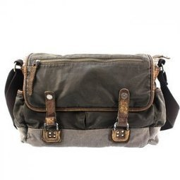 Classic waxed canvas urban cross-body bags | Rtro school bags - $123.60 : Notlie handbags, Original design messenger bags and backpack etc | personalized canvas messenger bags and backpack | Scoop.it