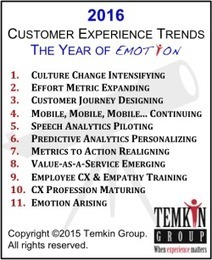 11 Customer Experience Trends for 2016 (The Year of Emotion) | Transmedia Think & Do Tank (since 2010) | Scoop.it
