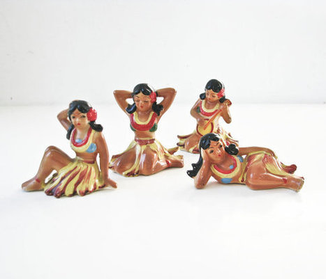 Vintage Hula Girls | Antiques & Vintage Collectibles | Scoop.it