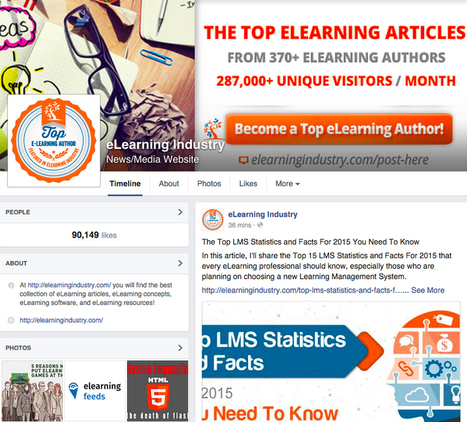 Using Facebook For eLearning: The Ultimate Guide For eLearning Professionals - eLearning Industry | Emerging Learning Technologies | Scoop.it