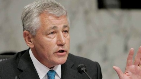 Chuck Hagel Faces Tough Confirmation from Senate Hawks for Rejecting Party Line on Israel, Iran | War & Peace: America's hidden agendas | Scoop.it