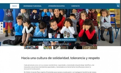 Una web por la educación inclusiva | Diversifíjate | Scoop.it