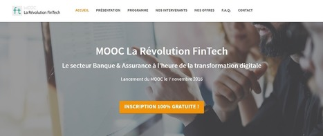 Unow lance le 1er MOOC français sur la FinTech en partenariat avec Finance Innovation - Hello Finance | Economy, Innovation, New Technologies, Digital technology | Scoop.it