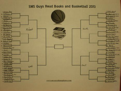 SMS Guys Read Books and Basketball 2013.... The Brackets | The World of Reading | Scoop.it