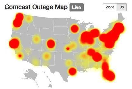 Comcast outages hit TV, Internet customers nationwide   Netiquette   Scoop.it