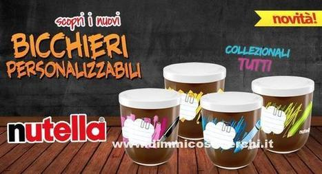 Bicchieri personalizzabili Nutella | News | Scoop.it