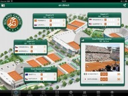 Roland Garros : Ultra HD et multi-écrans au programme | Roland Garros sur les réseaux sociaux | Scoop.it