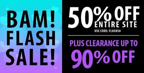 Pink Basis Flash Sale Extended! 50% Off Entire Website! Shop Now! | Pink Basis Discounts & Giveaways | Scoop.it